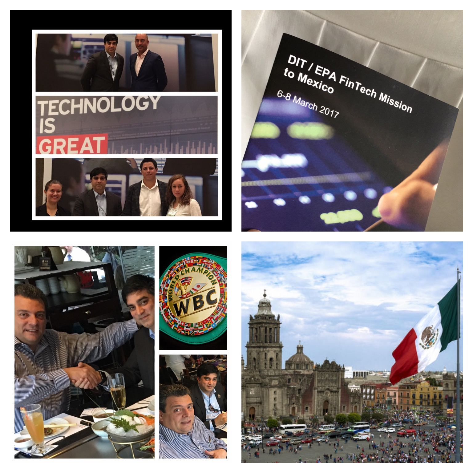 Decimal Factor's visit to Mexico.